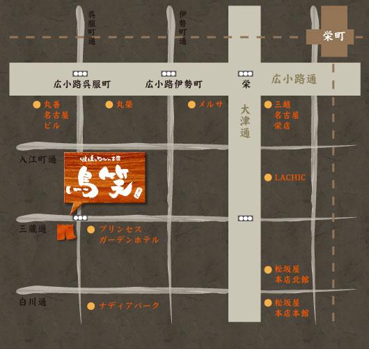 地図 愛知県名古屋市中区栄3-12-11